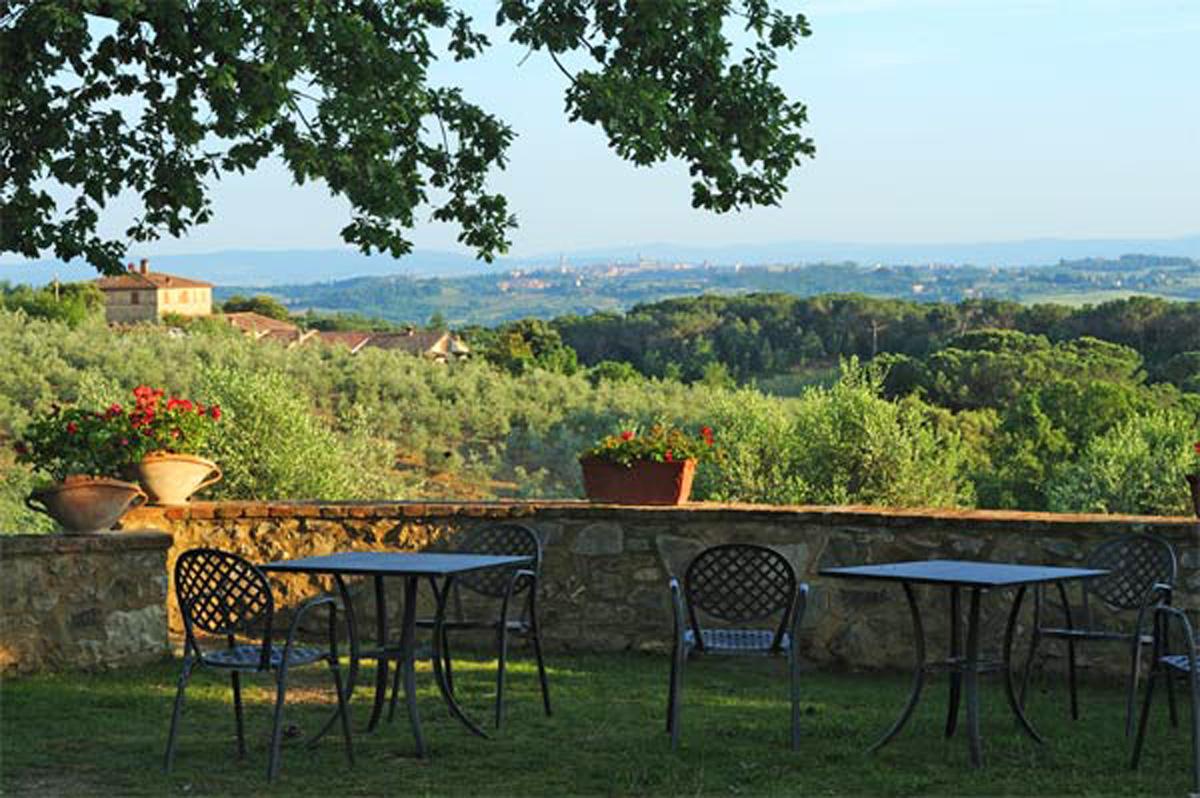 Agriturismo fattoria di corsignano in siena toscane for Piani di fattoria gratuiti